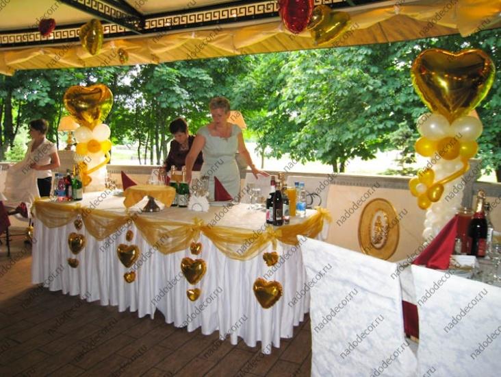 Задник из ткани на свадьбу