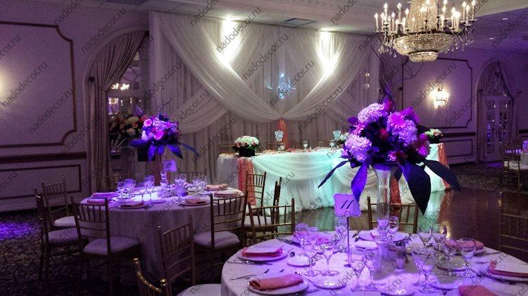 Фото оформление зала свадеб