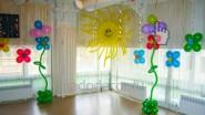 Украшение стен в детском саду