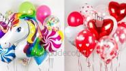 Яркие букеты из шаров для детей