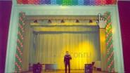 Украшение сцены ДК шарами (фото 1999 года)