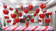 Украшение офиса ко Дню всех Влюбленных