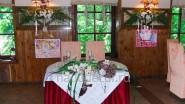 Оригинальное украшения зала к свадьбе