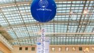 Виниловый шар 3 м. с баннером