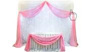 Ткань с подсветкой для свадьбы