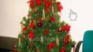 Новогоднее оформление офиса: ёлка