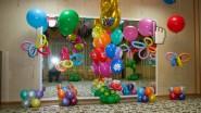Украшение шарами детского сада к 8 марта