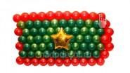 Оформление к 23 февраля: «Генеральский погон»: 2290р. Ш-1,8м.