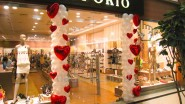 Украшение магазина, салона шарами ко Дню Валентина