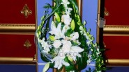 Напольная флористическая композиция