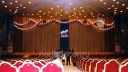 Оформление сцены киноконцертного зала