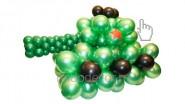 Танк из воздушных шаров: 1970руб. Ширина-1,5м.