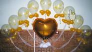«Воздушный поцелуй» в золотом исполнении