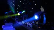 Оформление киноконцертного зала светом
