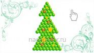 Елка «Рождественская» плоская, В-1.5метра, 2370руб
