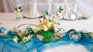 Украшение свадьбы в морском стиле