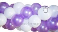 Гирлянда из шаров плетеная - 270р/м