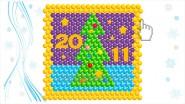 Панно «Новогодняя ночь», Ш-2.5метра, 10780руб