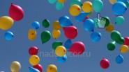 Выпуск воздушных шаров на свадьбе
