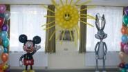 Оформление шариками детского сада