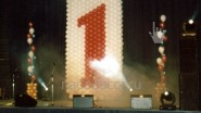 Оформление сцены на годовщину банка ОВК