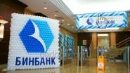 Оформление шарами офиса Банка Бин