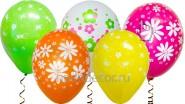 Шар с гелием «К 8 марта», разноцветные: В-35см, 73руб.