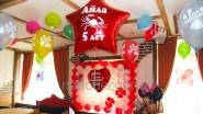 Украшение Дня рождения ребенка воздушными шарами