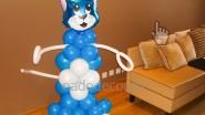 Котик из шаров для ребенка