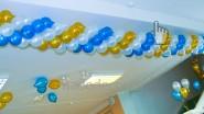 Гирлянда из шаров плетеная - 270руб/м