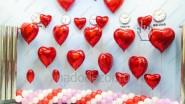 Украшение ресторана к Дню Святого Валентина