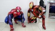 Шары Человек-паук и Железный человек на День рождения ребенка