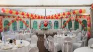 Украшение шатра на свадьбу