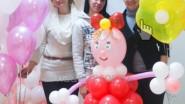 Девочка из воздушных шаров, сделанная своими руками!