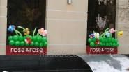 Украшение магазина к 8 марта