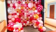 Фотозона из разноразмерных шаров