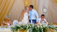 Большая свадебная композиция на стол