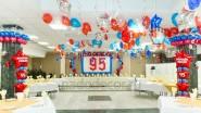 Украшение ресторана к 95-ти летия