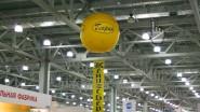 Подъем трехметровым шаром баннера