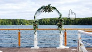 Свадебная арка для церемонии венчания