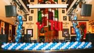 Украшение шарами клуба к юбилею туристической компании