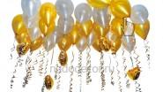 Гелиевые шары с сердечками: 690р/10шт