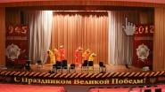 Оформление шарами и баннерами концертного зала