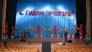Оформление сцены театра шарами на праздник