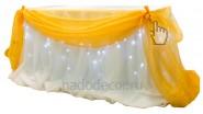 Подсветка стола жениха и невесты: 1200р.