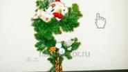 Новогоднее оформление офиса флористикой
