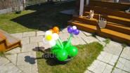 Украшение дачного участка воздушными шарами