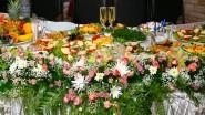 Украшение праздника живыми цветами