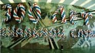 Буквы из шаров «300 лет социальной службе»