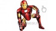 Ходячий шар Железный человек (Айронмэн): 1990р.-.<br />Высота фигуры- 95 см.